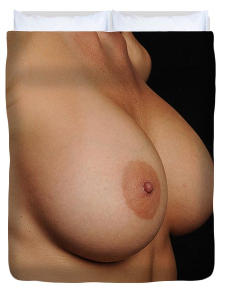 Perfect Breasts Duvet Cover