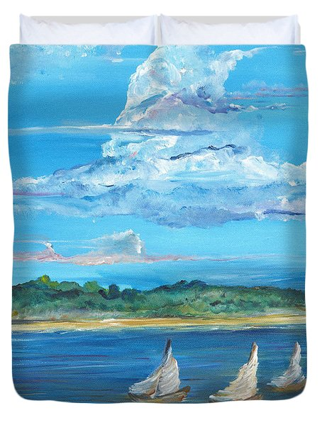Perfection Duvet Cover by Bev Veals