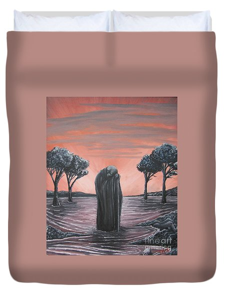 Perils Of Perdition Duvet Cover