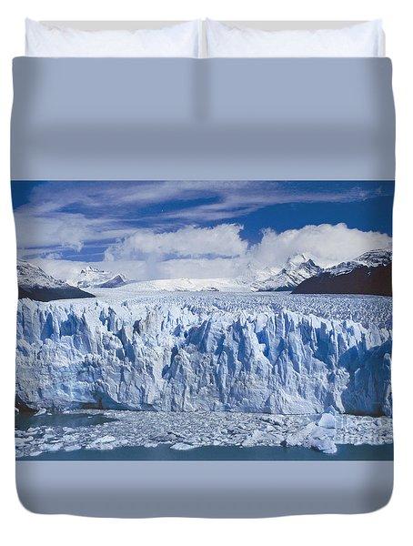 Perito Moreno Glacier Argentina Duvet Cover by Rudi Prott