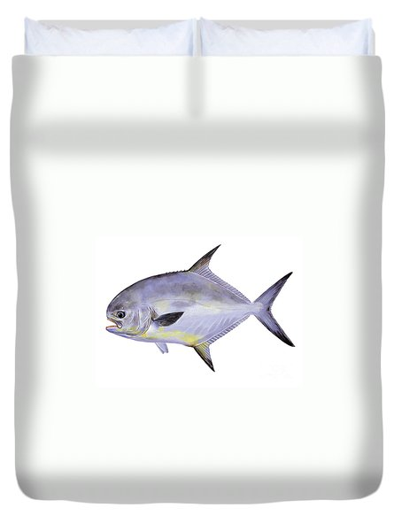 Permit Duvet Cover by Carey Chen