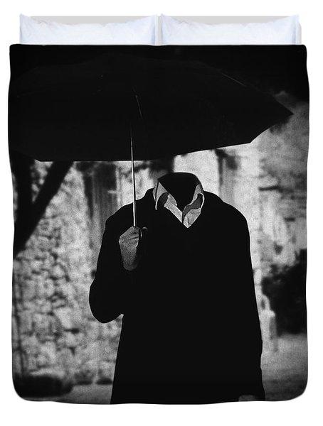 Pero A Veces.. Duvet Cover by Taylan Apukovska