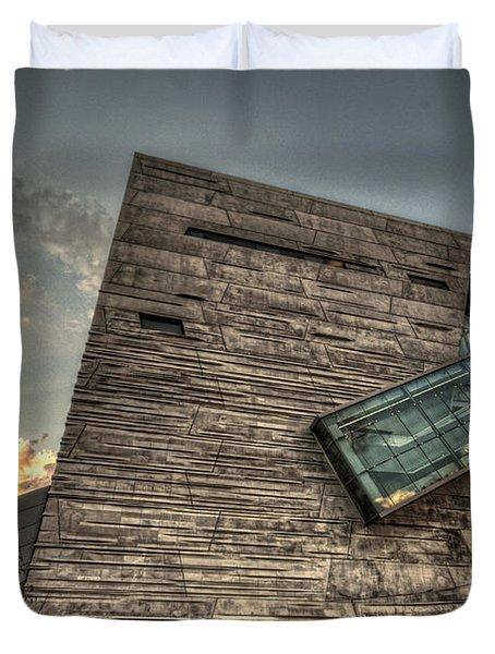 Perot Museum Duvet Cover