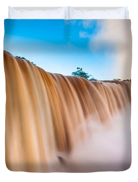 Perpetual Flow Duvet Cover by Inge Johnsson