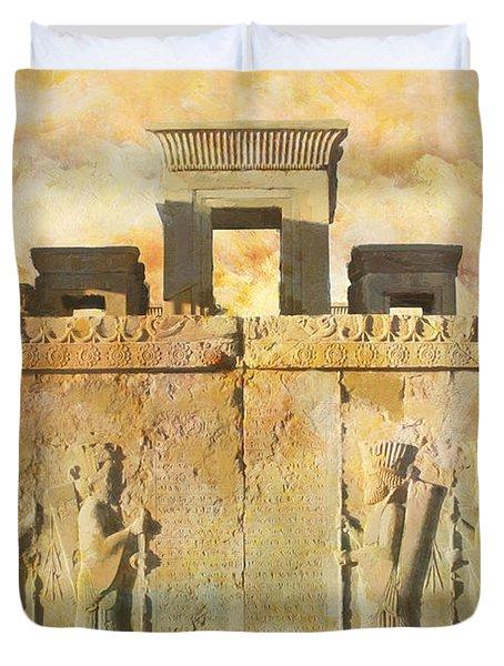 Persepolis  Duvet Cover by Catf