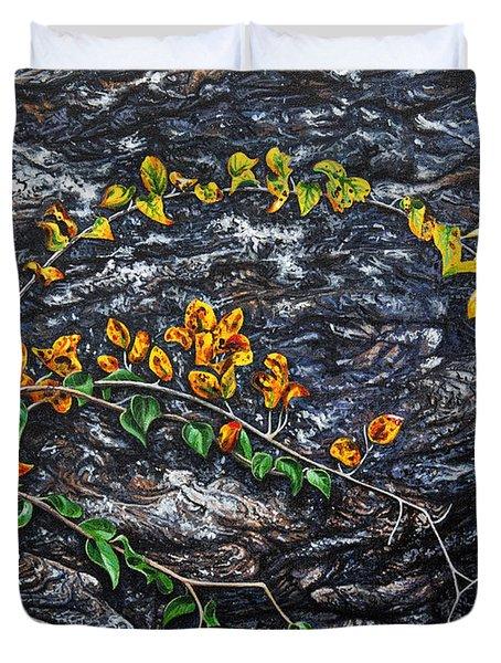 Persistence Duvet Cover by Craig T Burgwardt