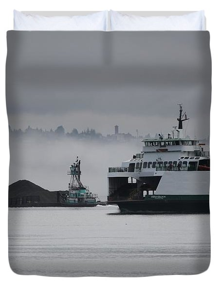 Duvet Cover featuring the photograph Perspective Is Everything by E Faithe Lester