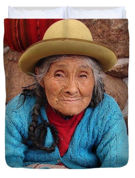 Peruvian Beauty Duvet Cover