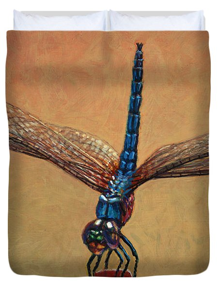 Pet Dragonfly Duvet Cover