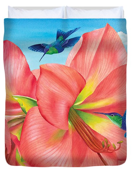 Petal Passion Duvet Cover by Carolyn Steele