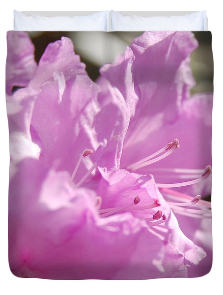 Petal Pink By Jrr Duvet Cover by First Star Art
