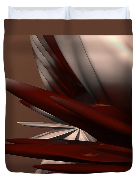 Petals And Stone 2 Duvet Cover by Judi Suni Hall