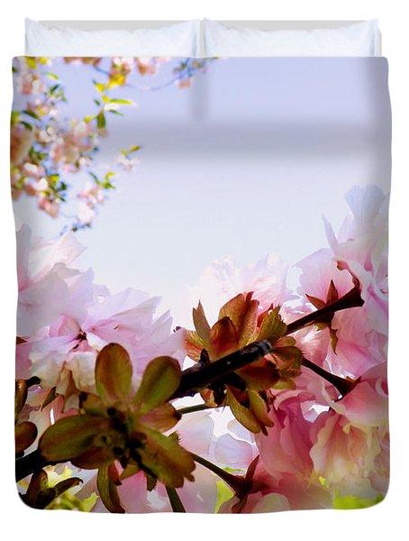 Petals In The Wind Duvet Cover