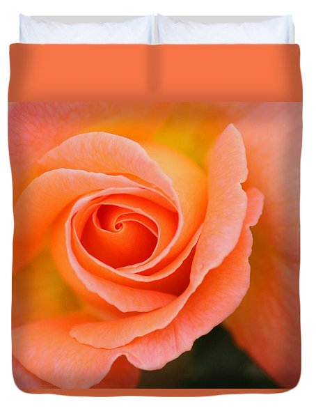 Petals Of Peach Duvet Cover