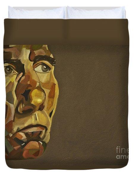 Pete Postlethwaite Duvet Cover