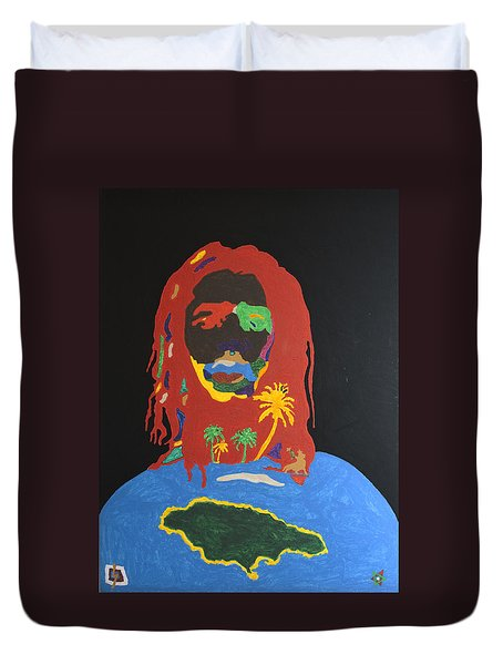 Peter Tosh Bush Doctor Duvet Cover by Stormm Bradshaw