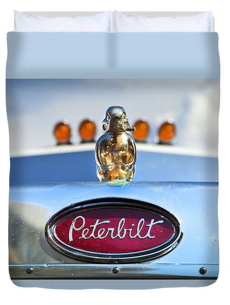 Peterbilt 2 Duvet Cover by Theresa Tahara