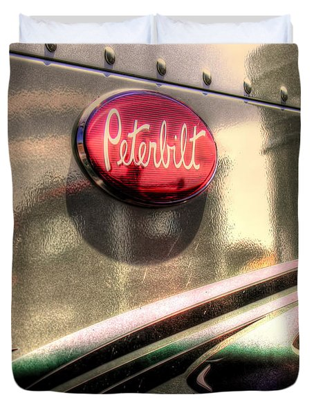 Peterbilt Duvet Cover