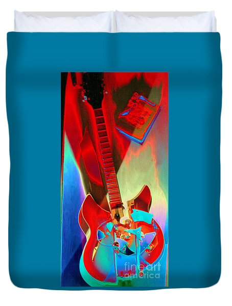 Pete's Guitar Duvet Cover