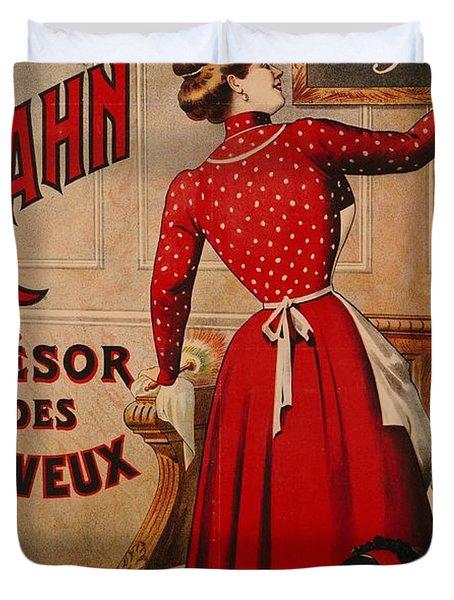 Petrole Hahn Duvet Cover by Boulanger Lautrec