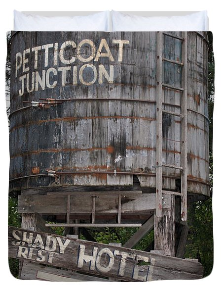 Petticoat Junction Duvet Cover by Kristin Elmquist