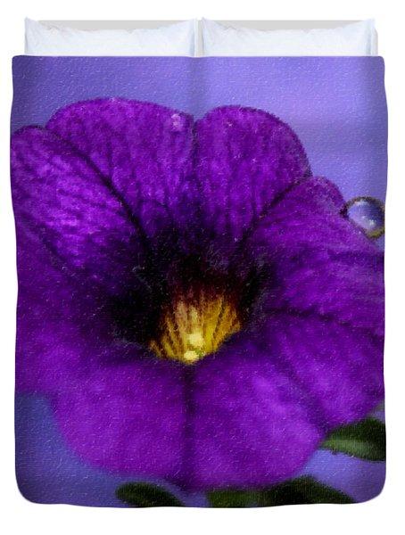 Petunia Dream Duvet Cover