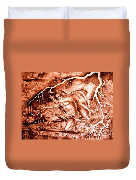Phaethon Duvet Cover