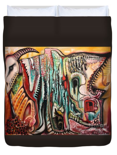Phantasmagoria Duvet Cover by Michael Kulick