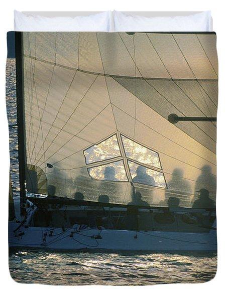 Phantom Crew - Lake Geneva Wisconsin Duvet Cover