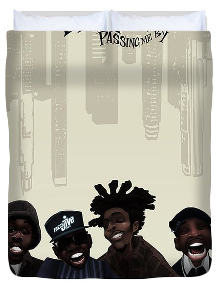 Pharcyde -passing Me By 1 Duvet Cover