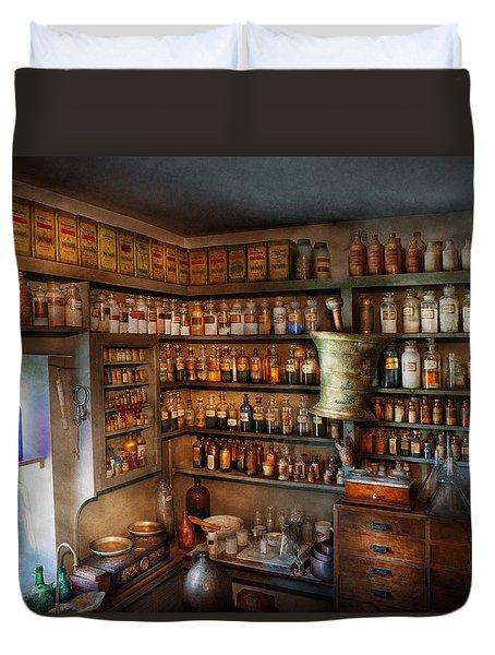 Pharmacy - Medicinal Chemistry Duvet Cover