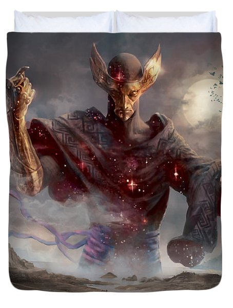 Phenax God Of Deception Duvet Cover