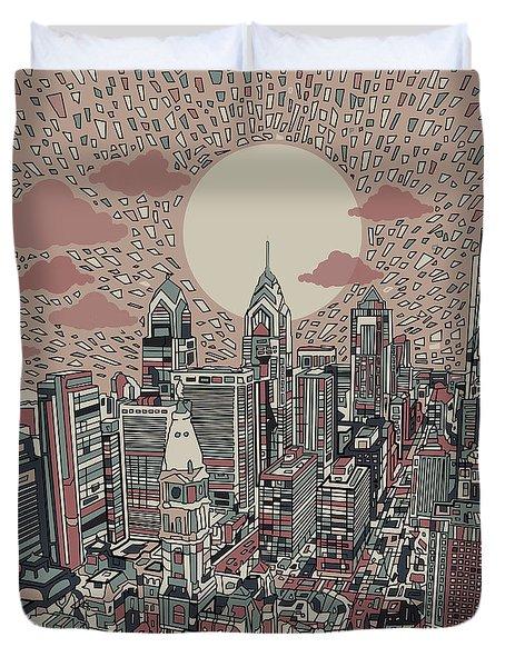 Philadelphia Dream 3 Duvet Cover