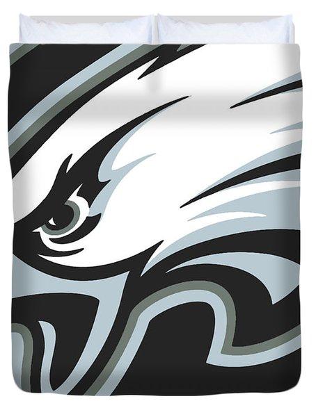 Philadelphia Eagles Football Duvet Cover