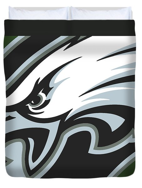 Philadelphia Eagles Football Duvet Cover
