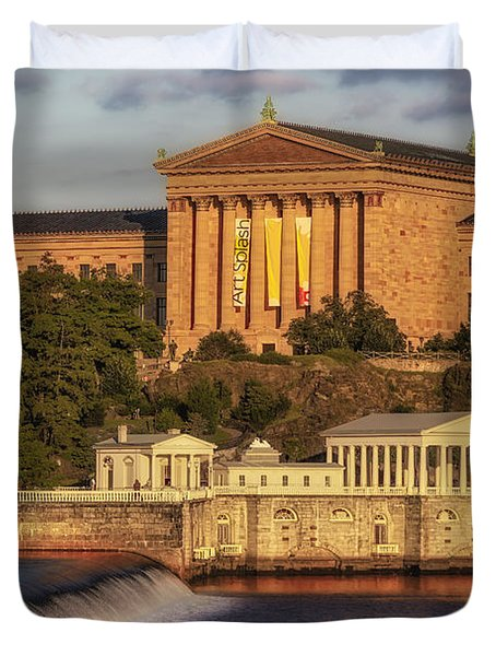Philadelphia Museum Of Art Duvet Cover