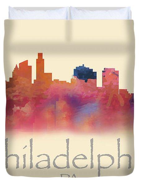 Philadelphia Pa Skyline I Duvet Cover