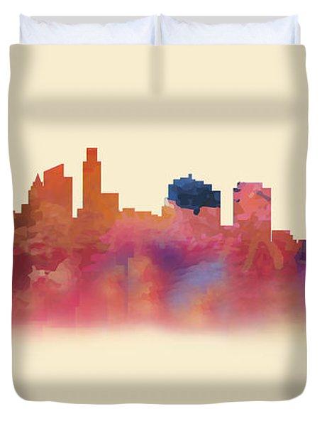 Philadelphia Pa Skyline II Duvet Cover