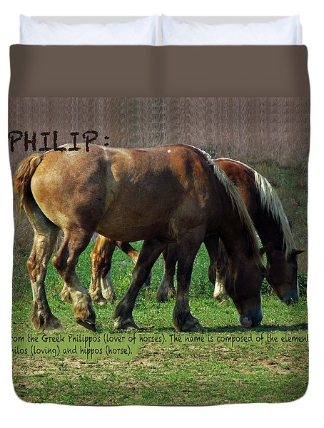Philip Duvet Cover