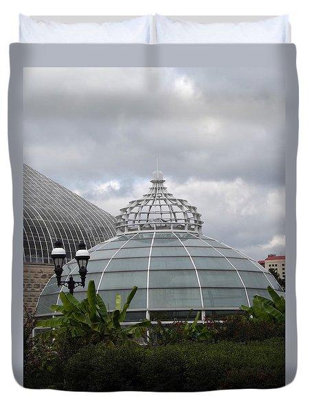 Phipps Conservatory  Duvet Cover by Joyce  Wasser