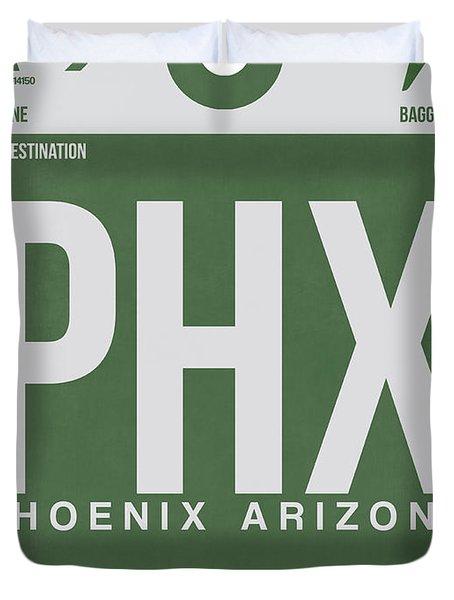 Phoenix Airport Poster 2 Duvet Cover