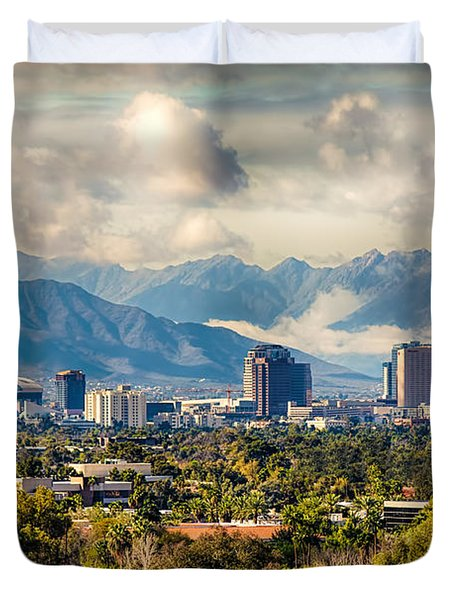 Phoenix Downtown Duvet Cover