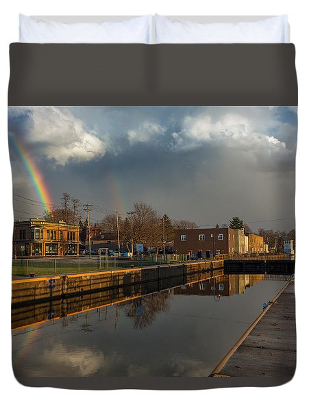 Phoenix Pot Of Gold Duvet Cover