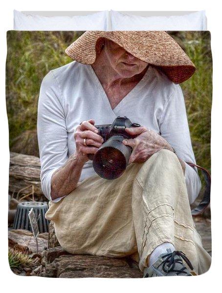 Photographer Duvet Cover by Linda Unger