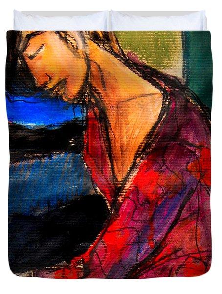 Pia #3 - Detail - Figure Series Duvet Cover