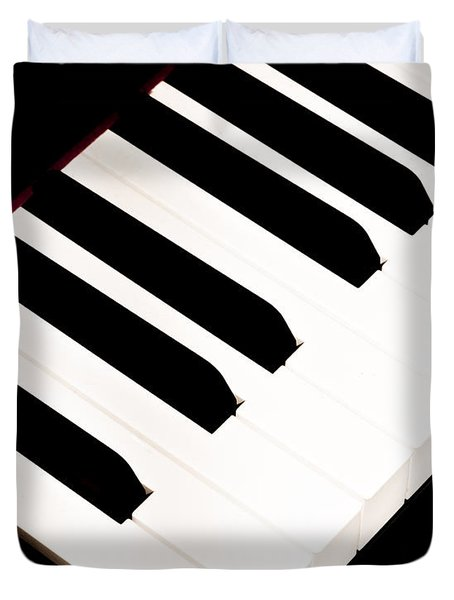 Piano Duvet Cover