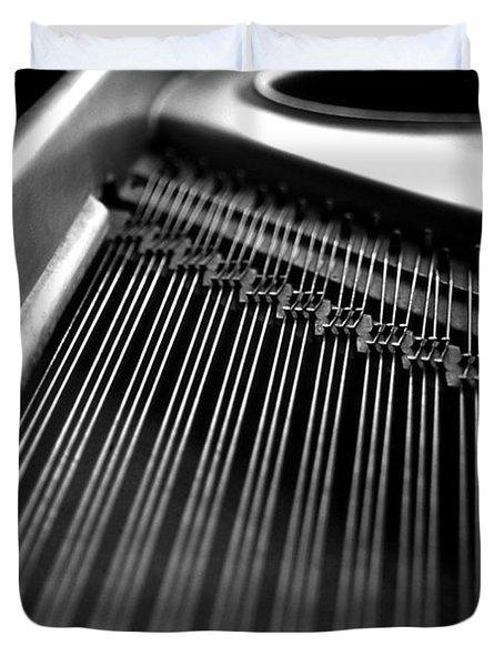 Piano Strings Duvet Cover by Tim Hester