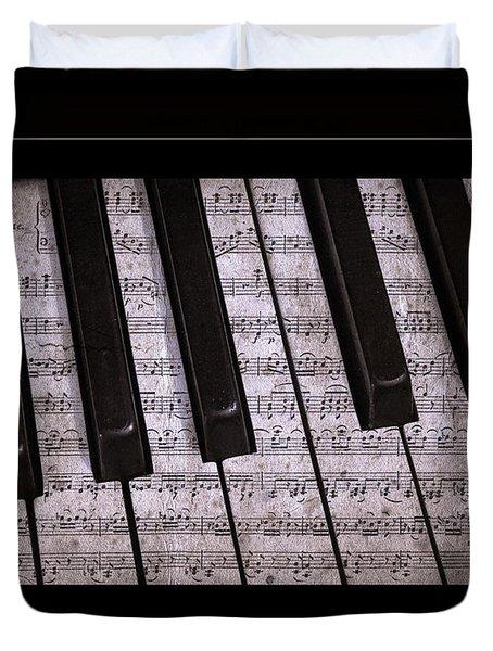 Pianoforte Classic Duvet Cover by John Stephens