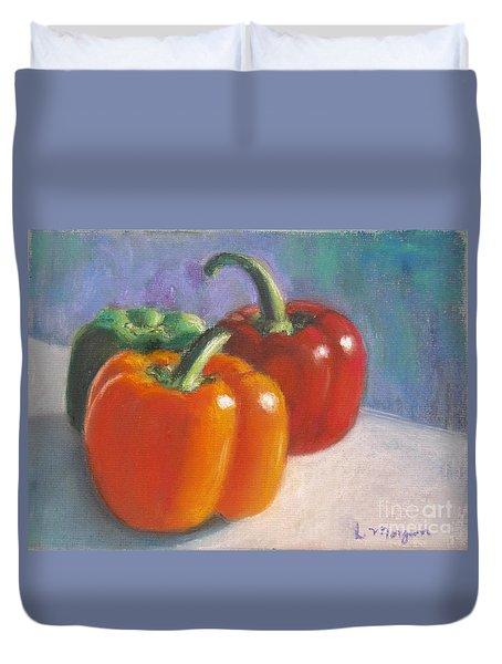 Pick A Pepper Duvet Cover