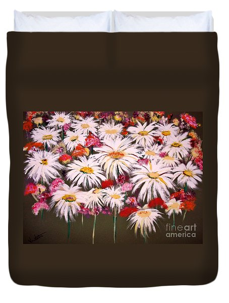 Pick One For Me Duvet Cover by Lori  Lovetere